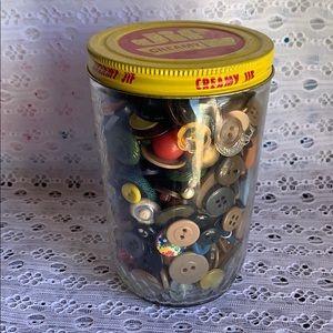 Vintage bottoms jar